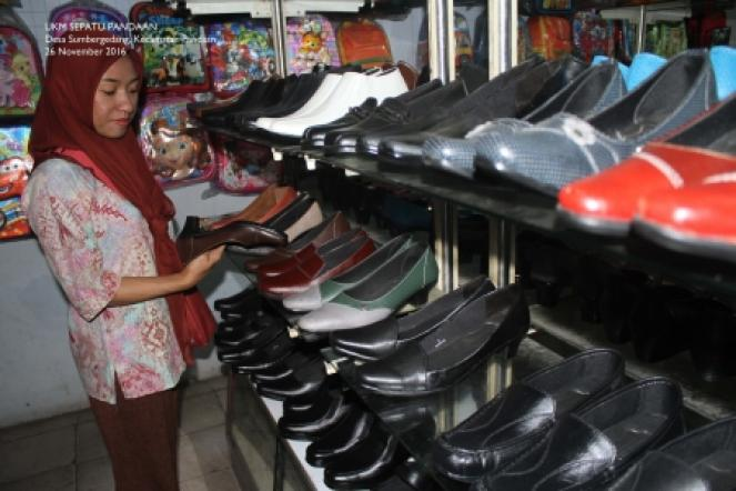 Produk UKM Sepatu Berkualitas Ekspor - Kecamatan Pandaan