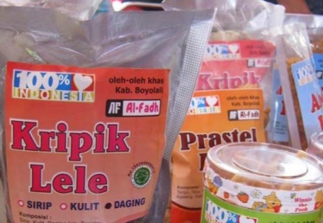 Kripik Lele - Kecamatan Sukorejo